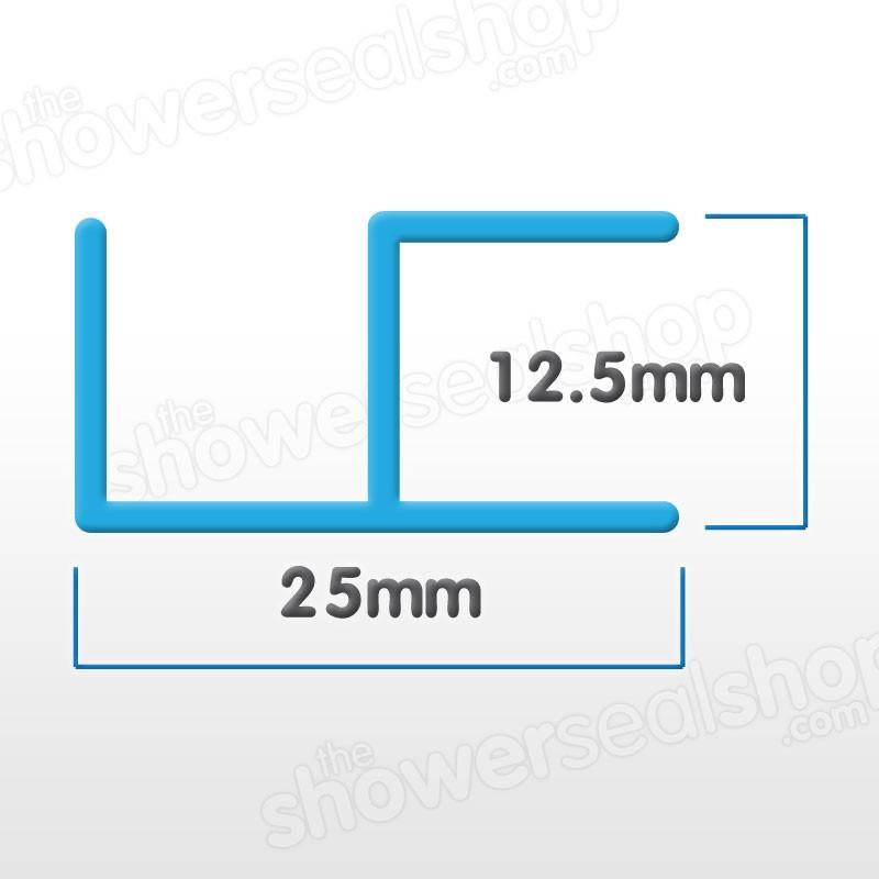 10mm Corner Magnetic Shower Seals